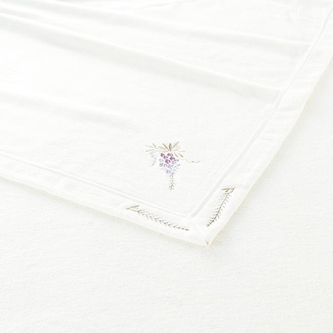 はなしずか 木箱入り シルク混綿毛布2枚セット(毛羽部分) No.300