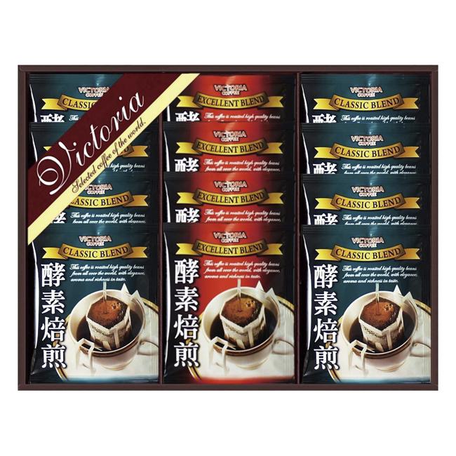 ビクトリアコーヒー 酵素焙煎ドリップコーヒーセット No.15