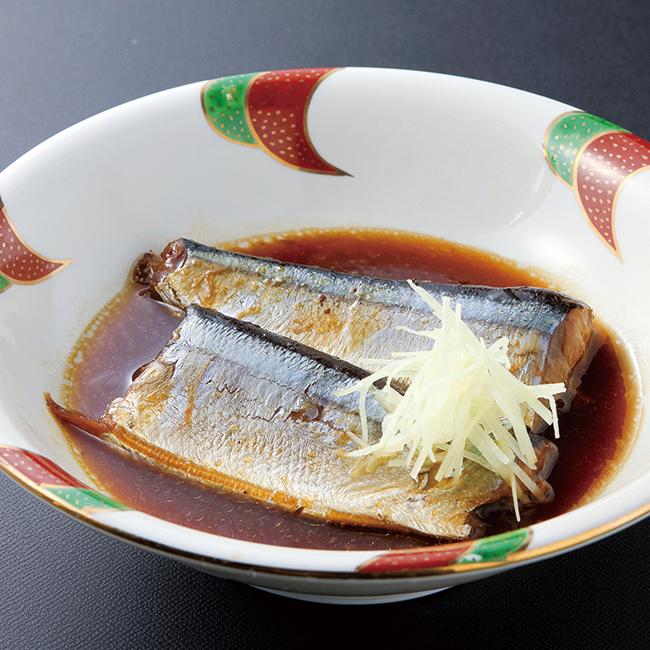三陸産煮魚&おみそ汁・梅干しセット No.20