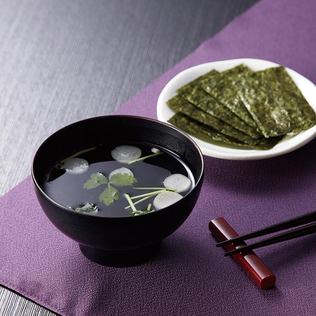 永谷園 松茸風味お吸い物と有明のり詰合せ No.20