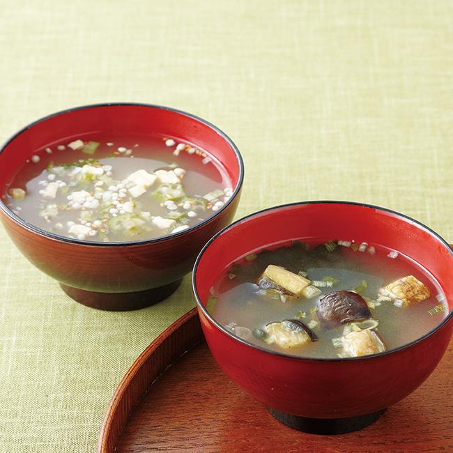 タニタ食堂監修減塩みそ汁・白子のり詰合せ No.20