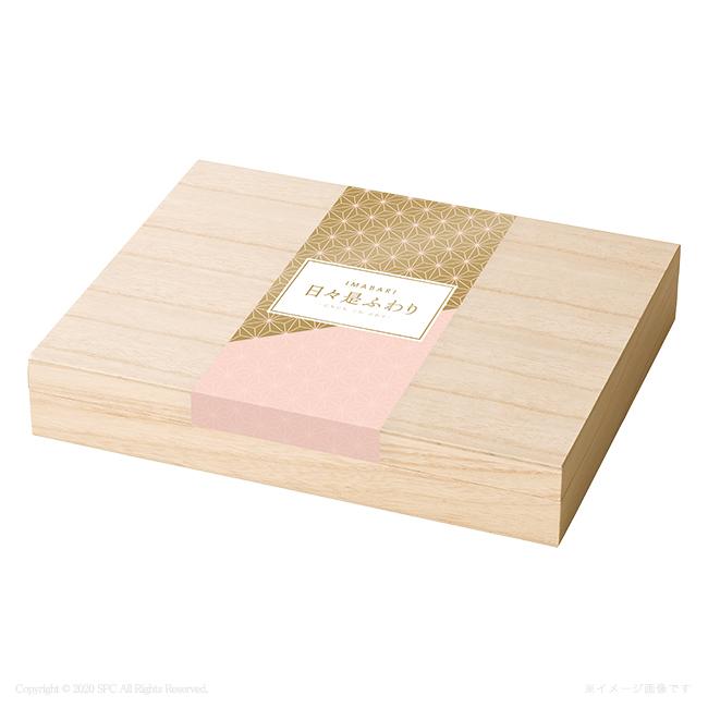 今治 日々是ふわり 木箱入り フェイスタオル2Pセット No.20